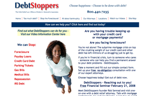 Jim Paisley - DebtStoppers Work